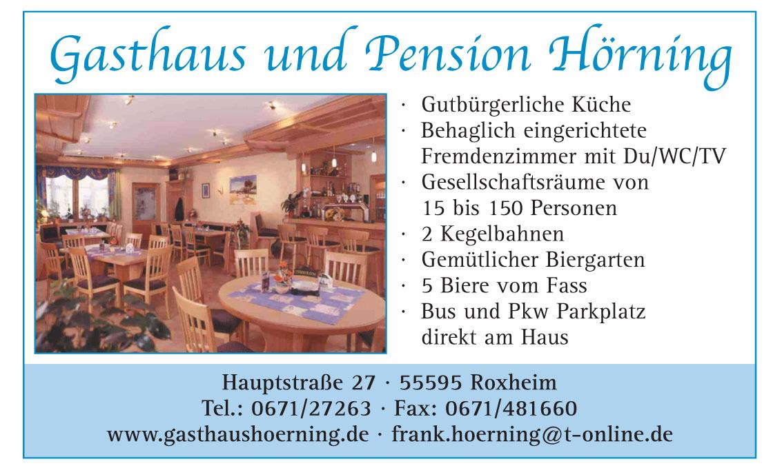 Gasthasthaus Hörning Roxheim